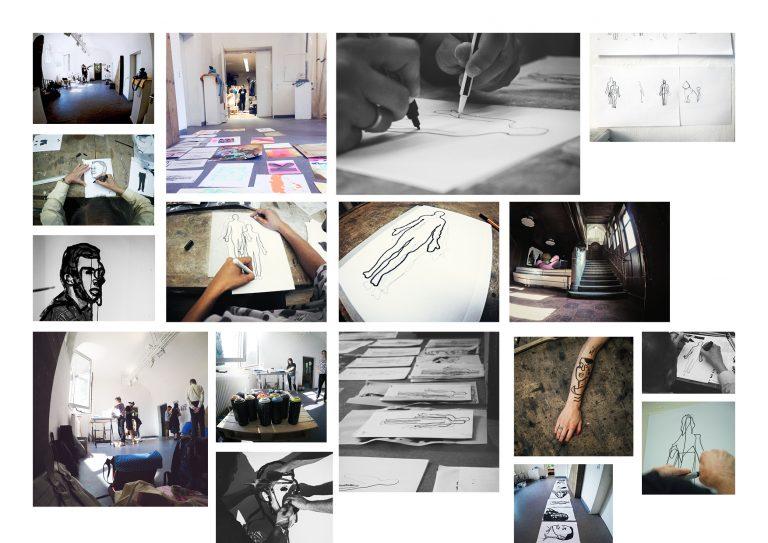 """Foto Collage ARTHELPS 768x543 - Jetzt Anmelden! Kunstausstellung """"Wer bin ich?"""" am 17. Oktober 2018"""